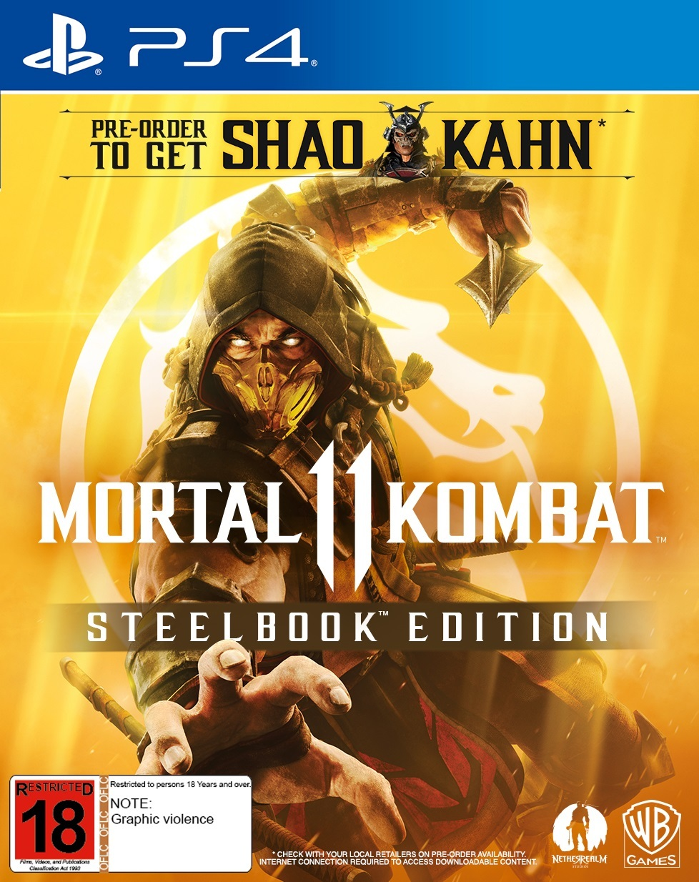 Mortal Kombat 11 Steelbook Edition for PS4 image