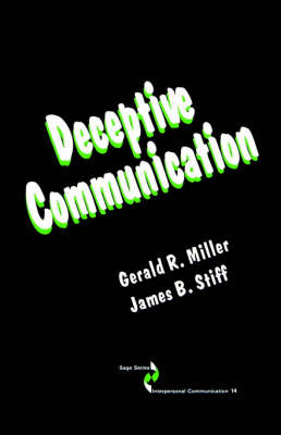 Deceptive Communication by Gerald R. Miller image