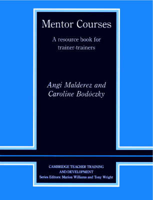 Cambridge Teacher Training and Development by Angi Malderez image