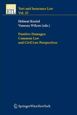 Punitive Damages: Common Law and Civil Law Perspectives image