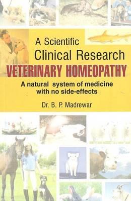Veterinary Homeopathy by B.P. Madrewar image