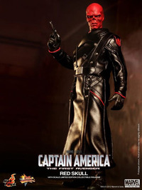 "Captain America Movie 1/6 Scale 12"" Action Figure - Red Skull image"