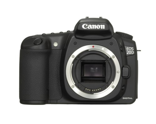 Canon Digital SLR Camera EOS 20D 8.2 MP Body Only image