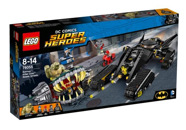 LEGO Super Heroes: Batman vs Killer Croc: Sewer Smash (76055)