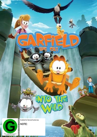 Garfield The Cat: Into The Wild on DVD