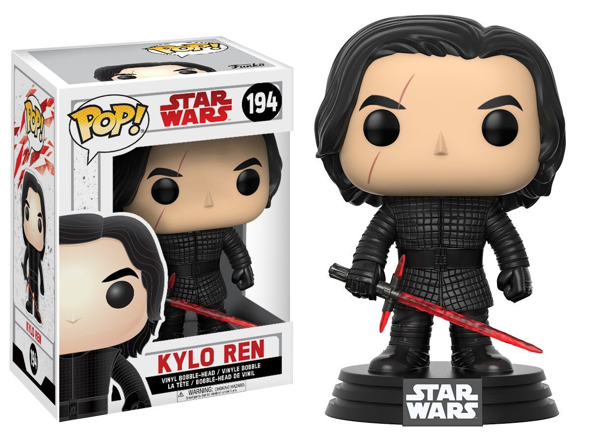 Star Wars: The Last Jedi - Kylo Ren Pop! Vinyl Figure image