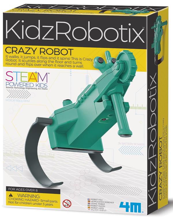 4M: Crazy Robot Kit