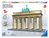 Ravensburger : Brandenburg Gate 3D Puzzle 216pc