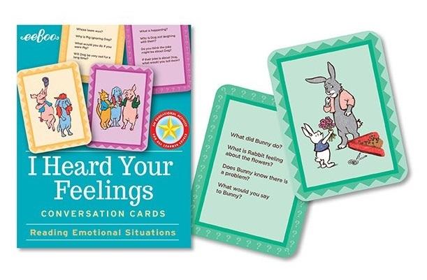 eeBoo: I Heard Your Feelings - Flash Cards