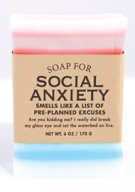 Whiskey River Co: Soap - Social Anxiety
