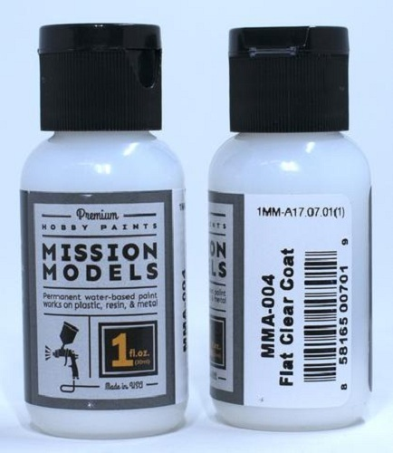 Mission Models Paint Flat Coat Clear (29ml)