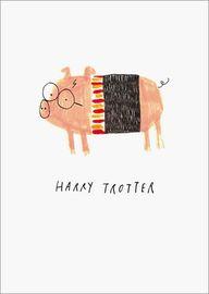 Oh Deer: Harry Trotter Multi-Purpose Greeting Card