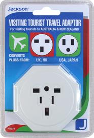 Jackson: Travel Adaptor with Surge Protection image