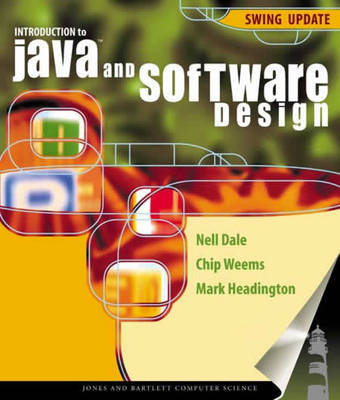 Introduction to Java and Software Design by Nell B Dale image