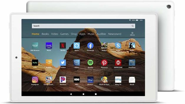 "Amazon: Fire Tablet HD10 (10.1"" / 2GB RAM / 32GB) - White"