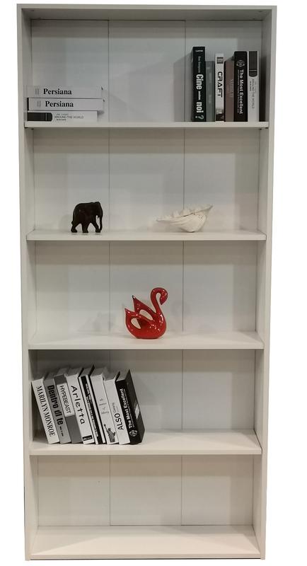 Bookcase 2025mm in White