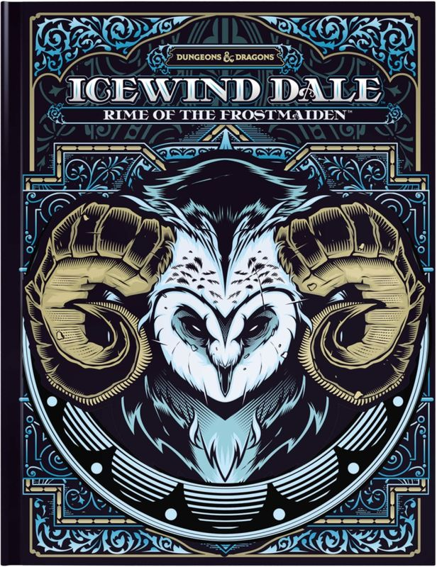 Dungeons & Dragons Icewind Dale: Rime of the Frostmaiden (Exclusive Cover) by Wizards RPG Team