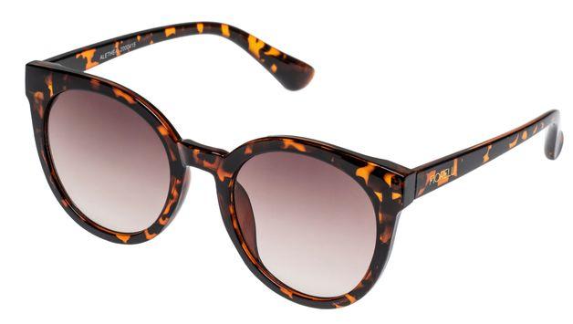 Fiorelli: Alethea Sunglasses - Honey Tortoise + Brown Lens