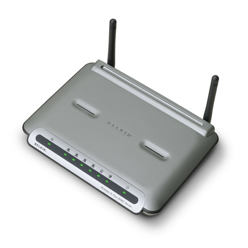 Belkin G+ MiMO Router image