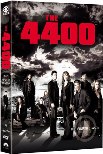 4400, The -  Season 4 (4 Disc Set) on DVD