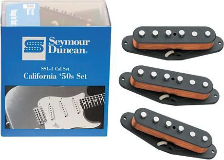 Seymour Duncan California 50 S Ssl 1 Vintage Strat Pickup Set At Mighty Ape Australia