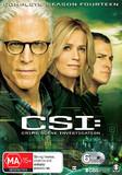 C.S.I. Season 14 DVD