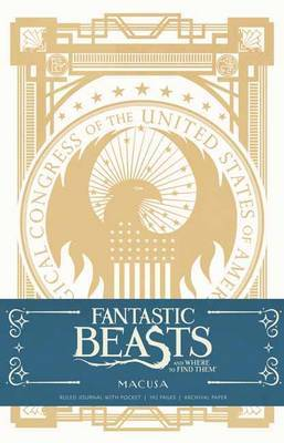 Fantastic Beasts and Where to Find Them: Macusa Hardcover Ruled Journal by Insight Editions