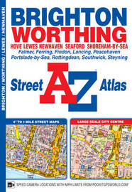 Brighton Street Atlas by Geographers A-Z Map Company
