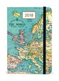 Cavallini & Co. Vintage Map 2018 Dairy