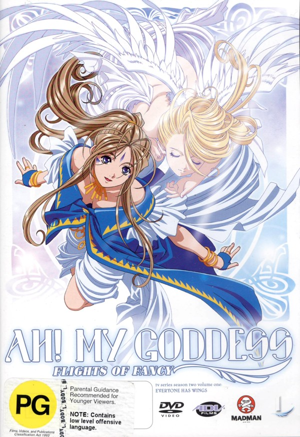Ah! My Goddess - Flights Of Fancy: Vol. 1 - Everyone Has Wings on DVD image