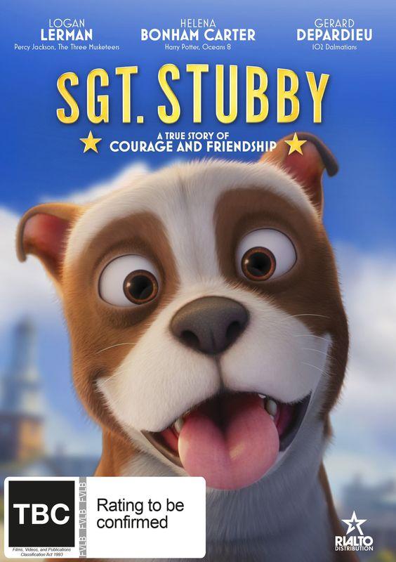 Sgt. Stubby on DVD