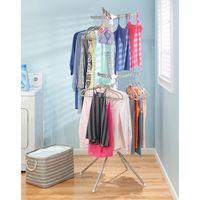 InterDesign Brezio Tripod Clothing Dryer 2 Tier