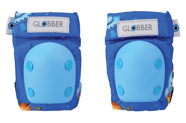 Globber: Protective Pad Set - Toddler XXS (Rocket Blue)