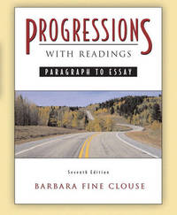 Progressions with Readings by Barbara Fine Clouse image