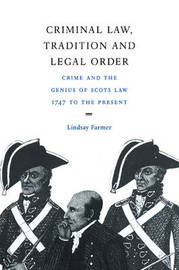 Criminal Law, Tradition and Legal Order by Lindsay Farmer image