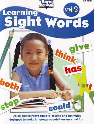 Learning Sight Words Resource Book: Volume 2 by Barbara Rankie image