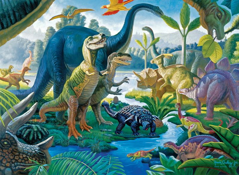 Ravensburger 100 Piece Jigsaw Puzzle - Land of Giants image