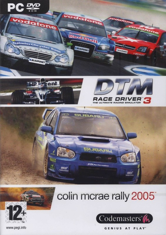 Race Driver 3 + Colin McRae Rally 2005 Bundle for PC