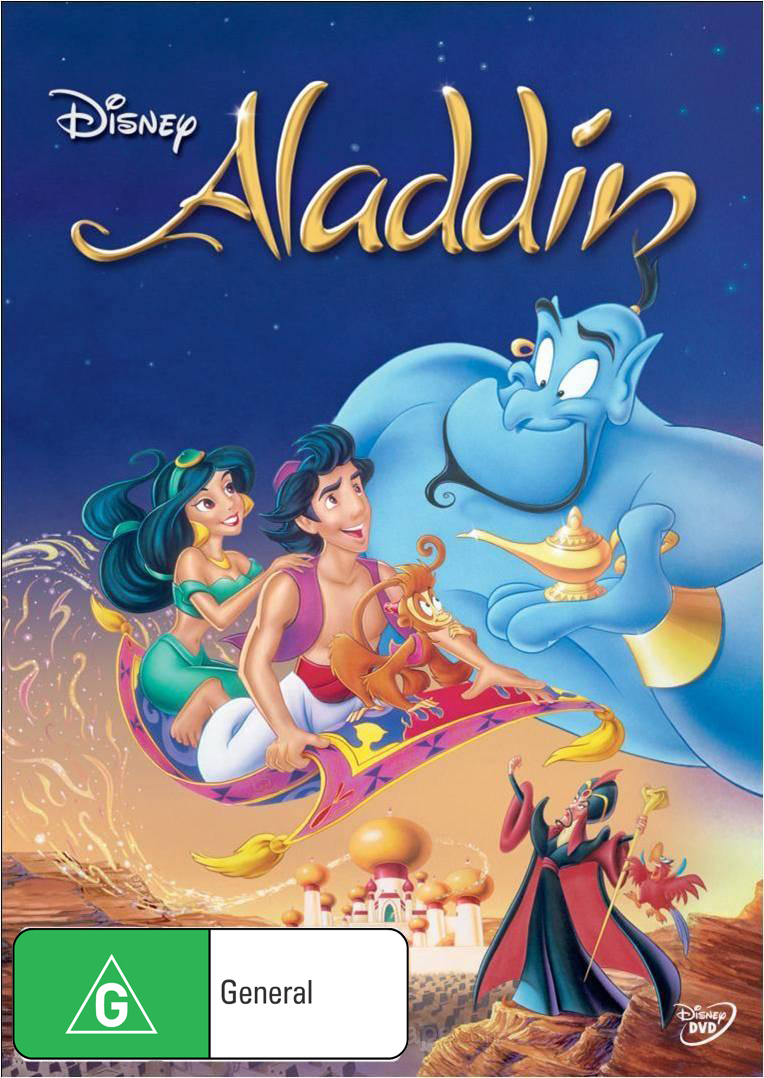 Aladdin on DVD image