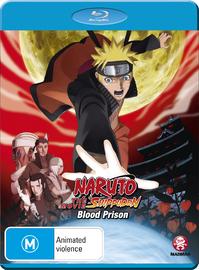 Naruto Shippuden - Movie 5: Blood Prison on Blu-ray