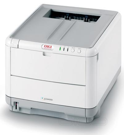 Oki C3400n Colour LED 20ppm 1200x600 Dpi Colour Laser Printer USB2 + Network image