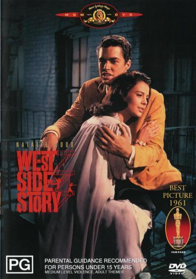 West Side Story on DVD image