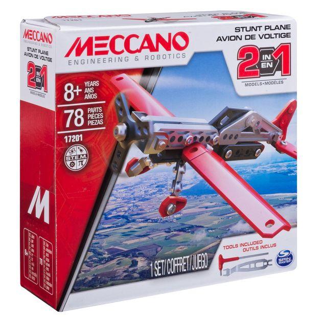 Meccano 2-in-1 Plane