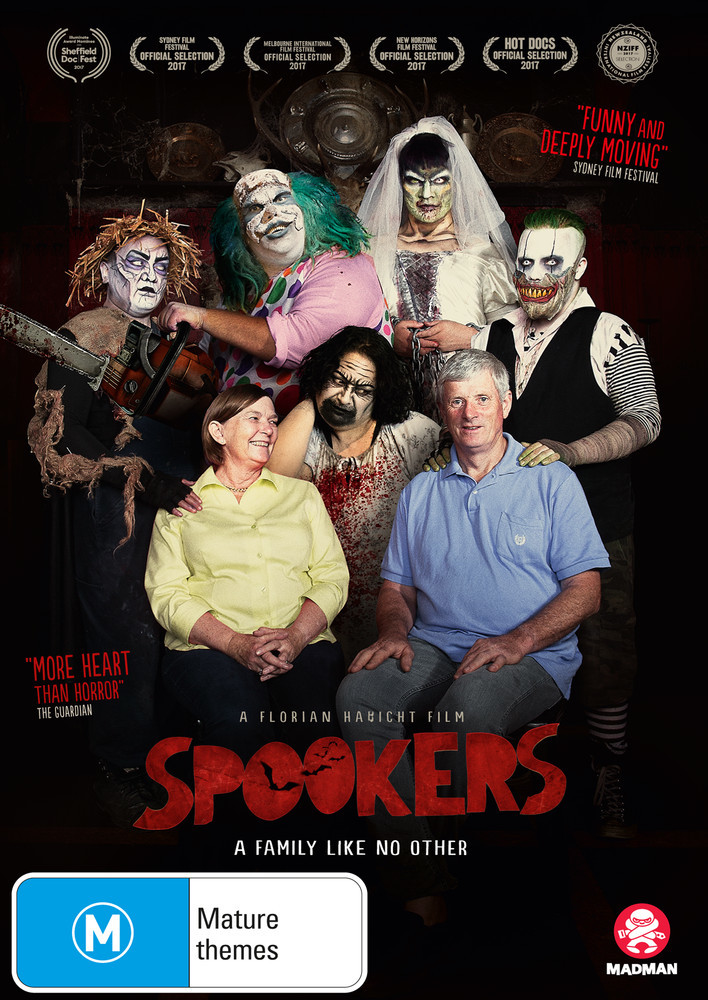 Spookers on DVD image