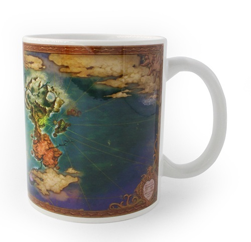 Ni-No-Kuni 2 World Map Mug