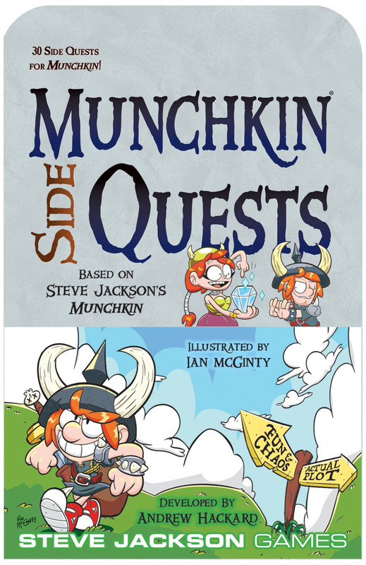Munchkin: Side Quests - Expansion Set