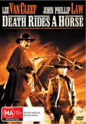 Death Rides A Horse on DVD