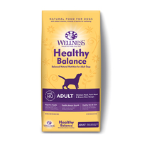 Wellness: Healthy Balance Adult Chicken Meal, Pork Meal & Brown Rice Recipe 12.7KG