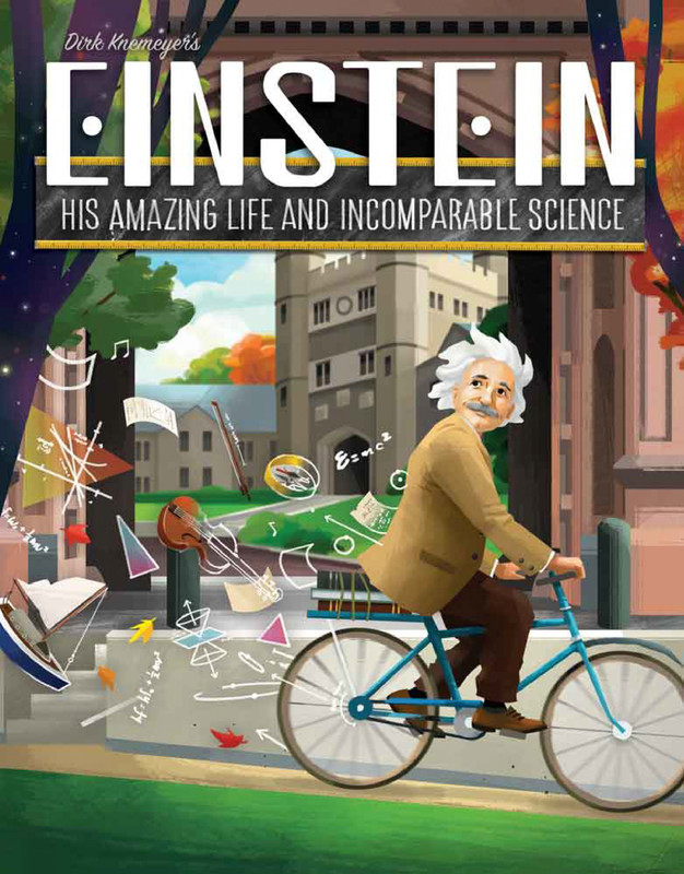 Einstein: His Amazing Life and Incomparable Science - Board Game