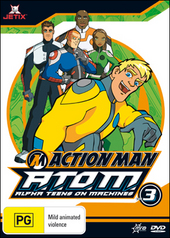 Action Man - A.T.O.M.: Alpha Teens On Machines - Vol. 3 on DVD